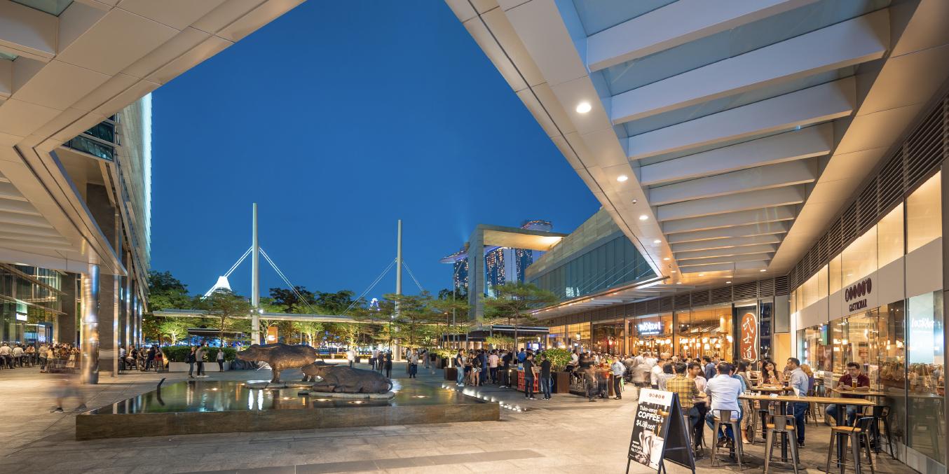 Marina Bay Link Mall Ground Plaza