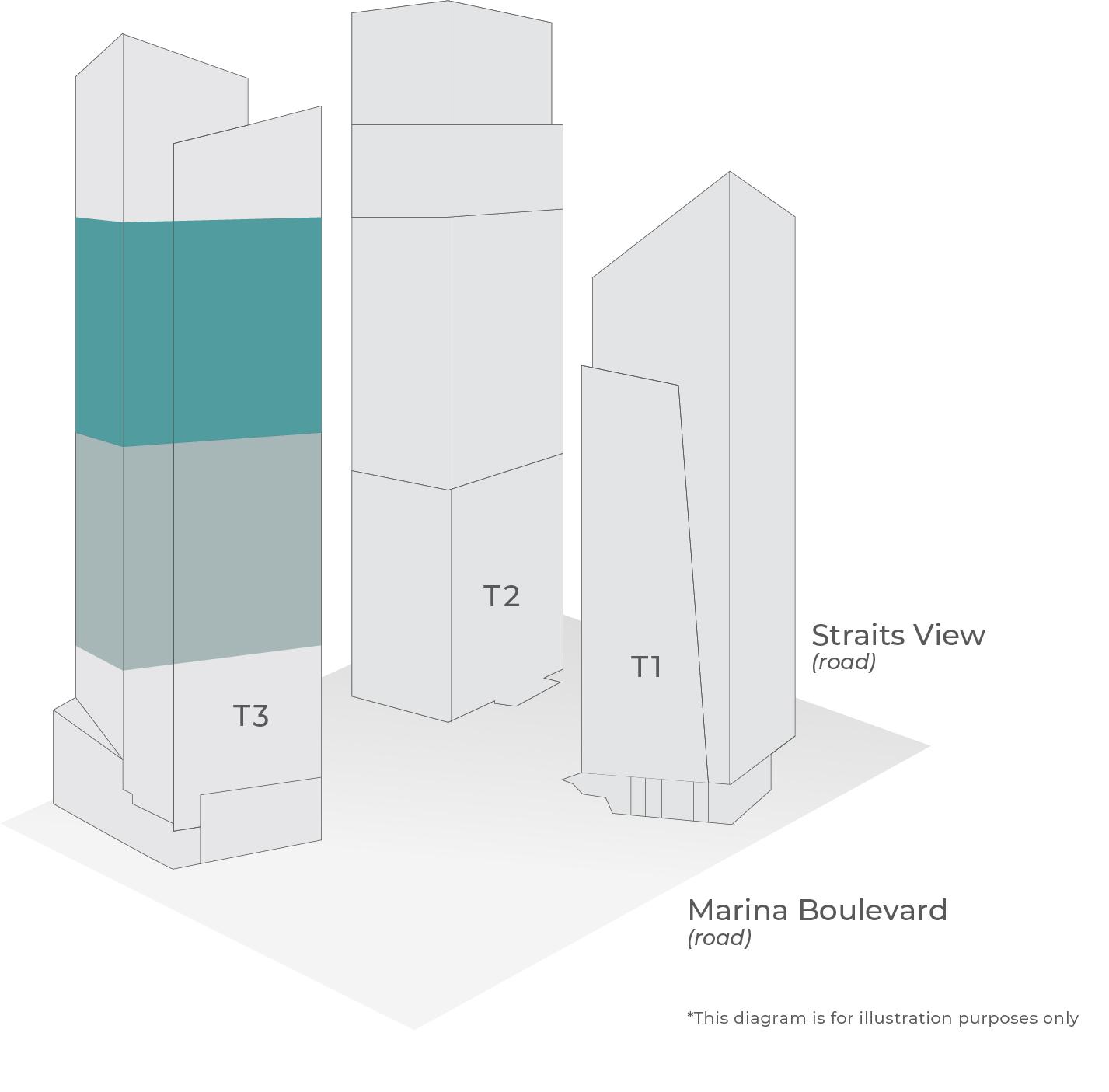 Marina Bay Financial Centre Tower Plan